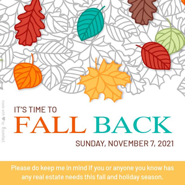 """""""Seasonal-Fall-Back-2021"""""""