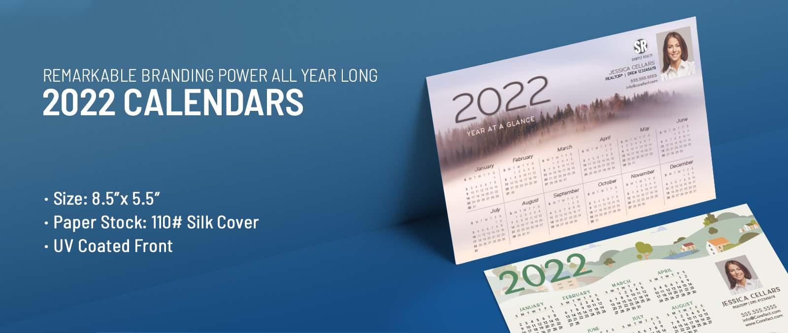 Real Estate Calendar Postcards