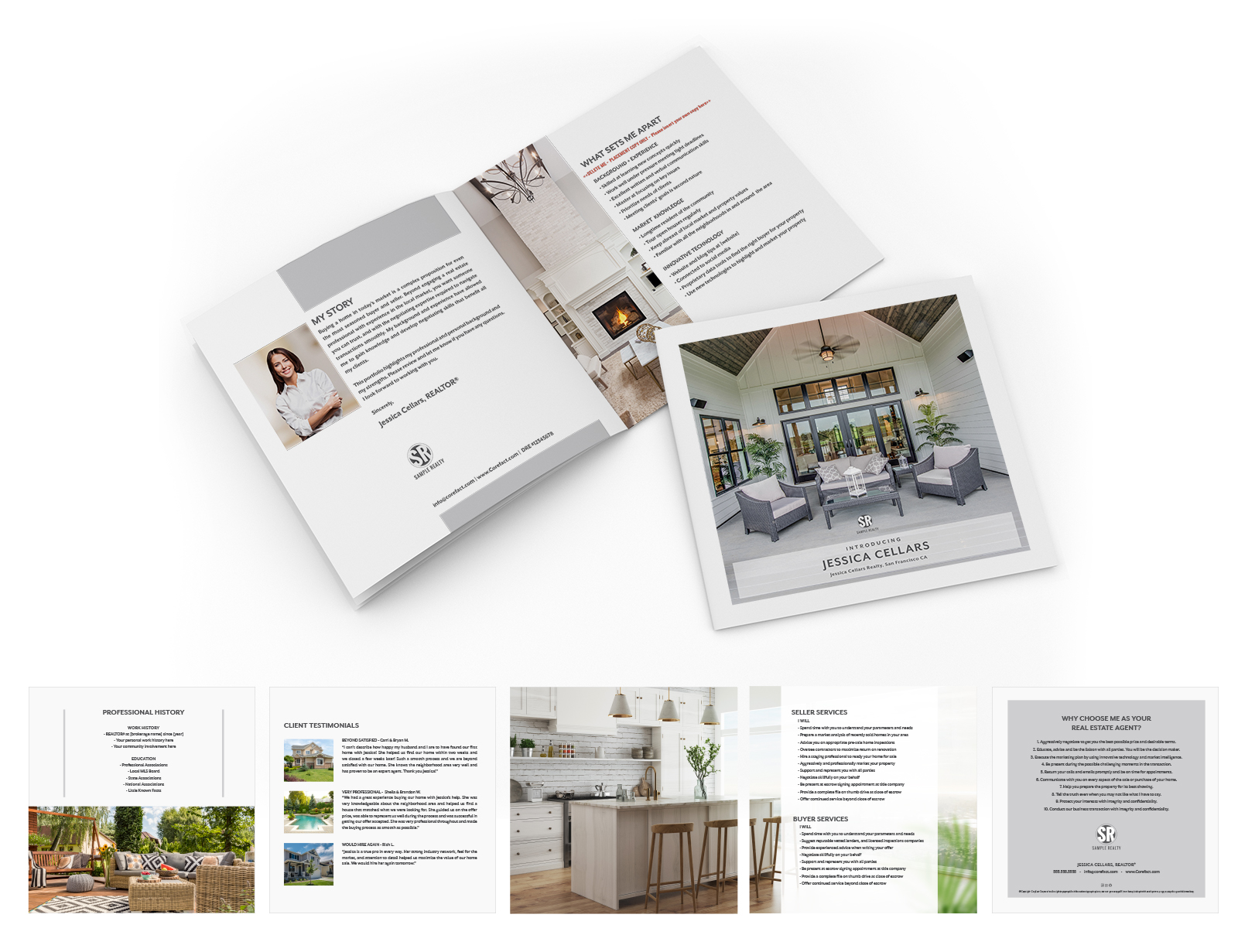 Corefact Agent Brochure - Country Chic