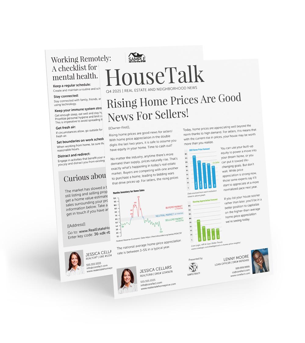 Corefact House Talk - Quarterly - Q4 (Team)