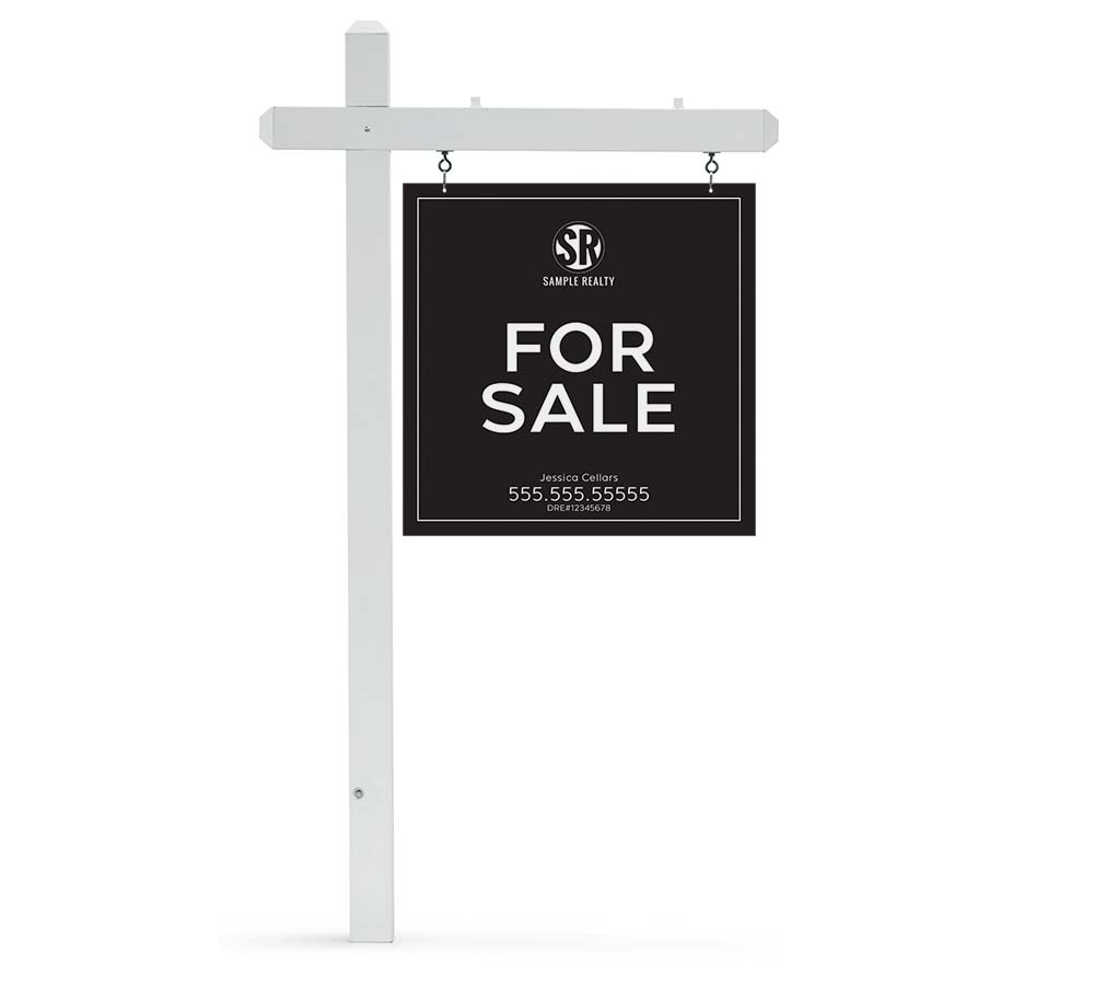 Corefact Yard Sign - Modern Square
