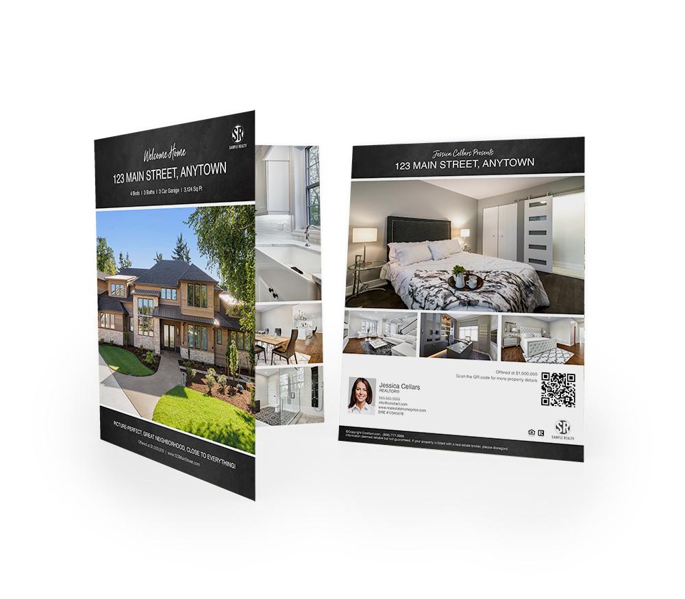 Corefact Chalkboard Brochure - Book Fold