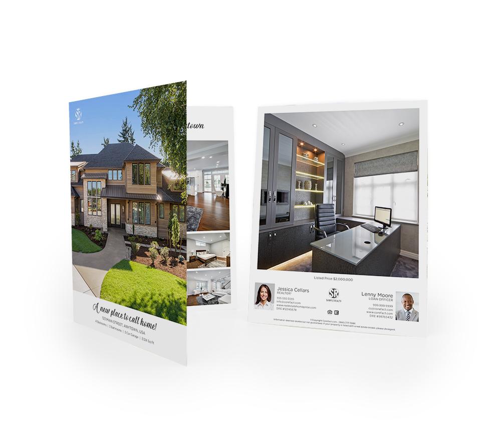 Corefact Typography Love Brochure - Book Fold (Team)