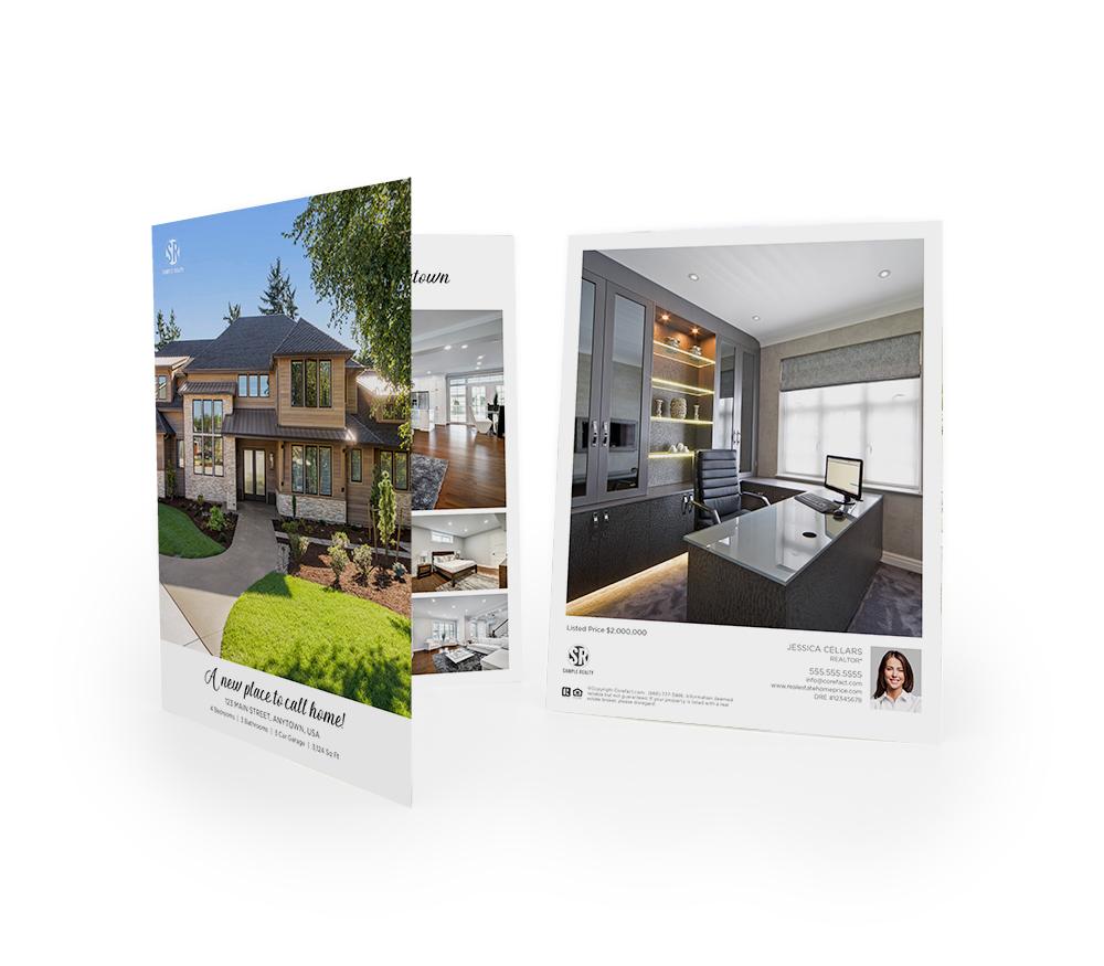 Corefact Typography Love Brochure - Book Fold