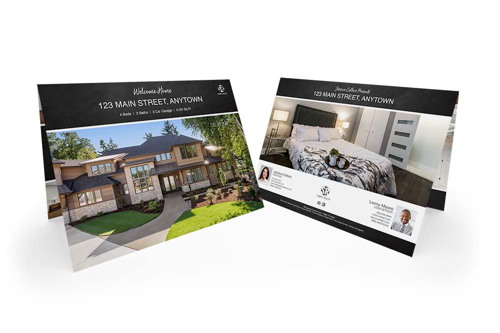 Corefact Chalkboard Brochure - Calendar Fold (Team)