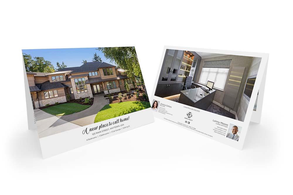 Corefact Typography Love Brochure - Calendar Fold (Team)