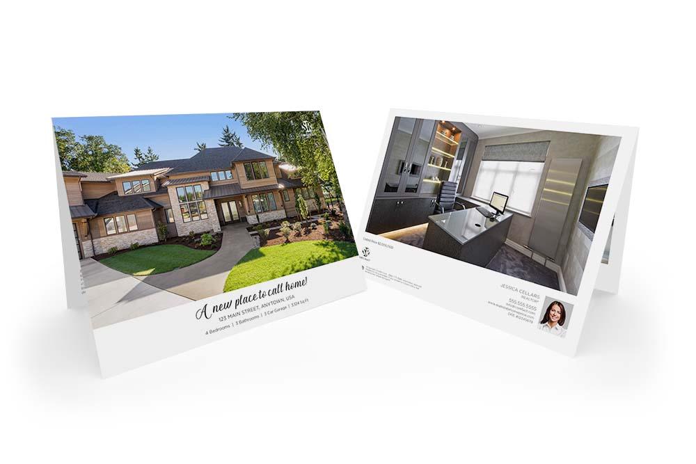 Corefact Typography Love Brochure - Calendar Fold