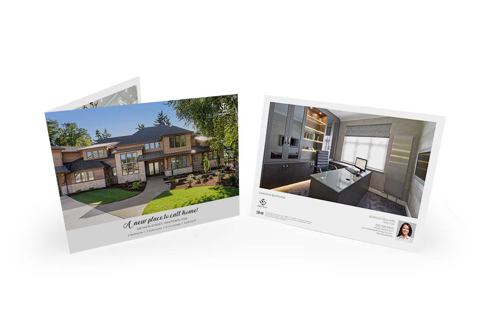 Corefact Typography Love Brochure - Panoramic Fold