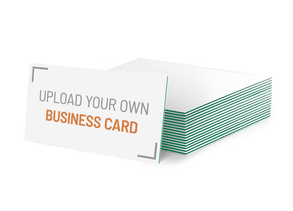 Corefact Upload Your Own Business Card