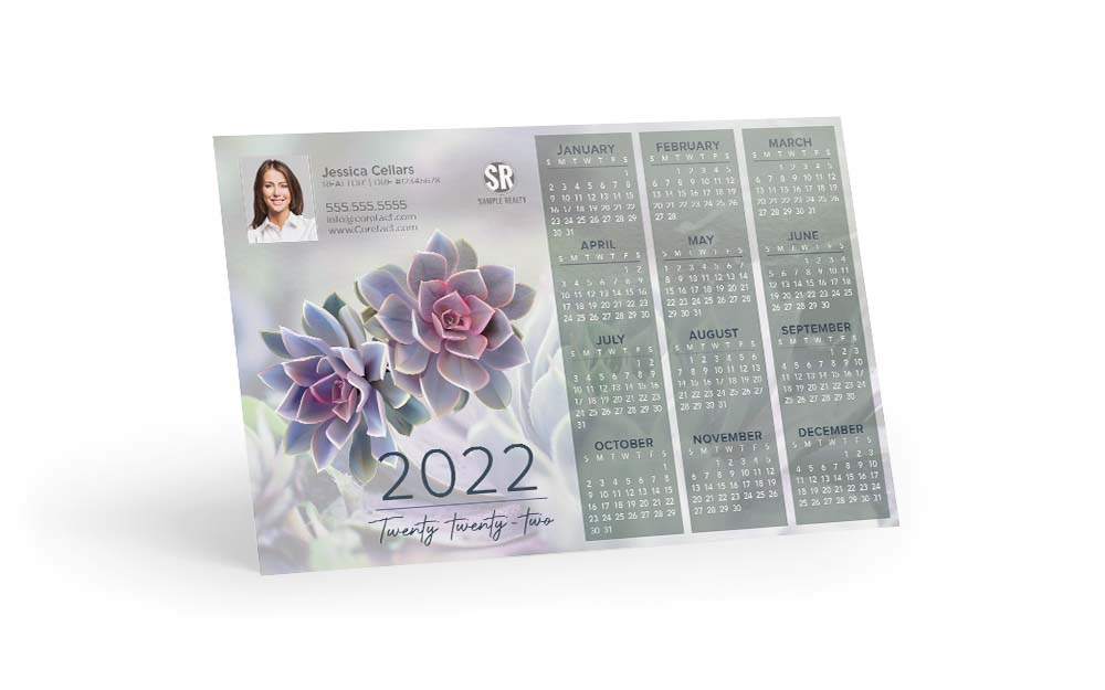 Corefact Calendar 2022 - Succulents
