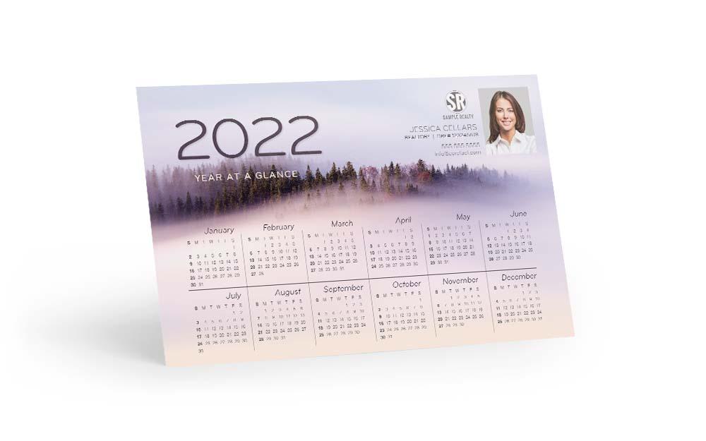 Corefact Calendar 2022 - Misty Mountains