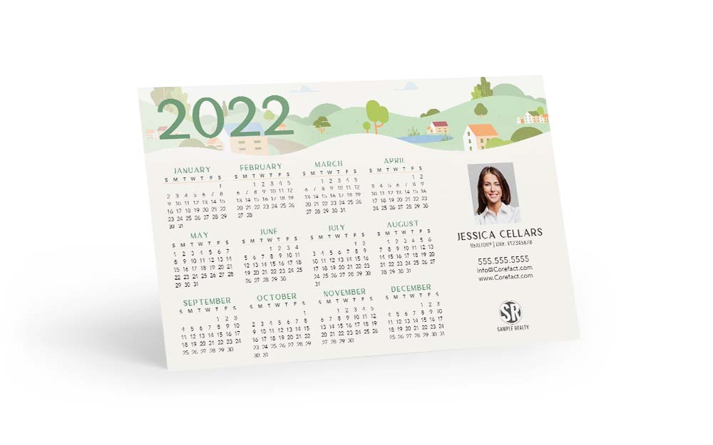 Corefact Magnets - Calendar 2022 - 03 (Print Only)