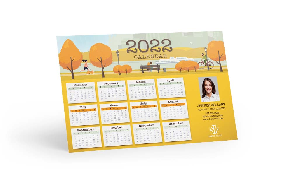Corefact Magnets - Calendar 2022 - 04 (Print Only)