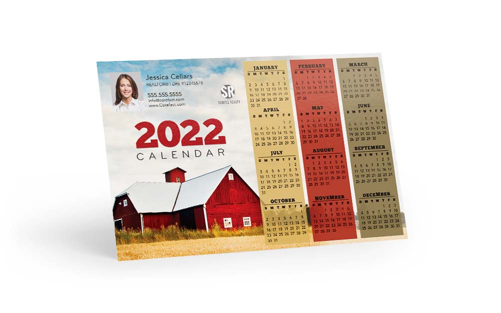 Corefact Magnets - Calendar 2022 - 10 (Print Only)