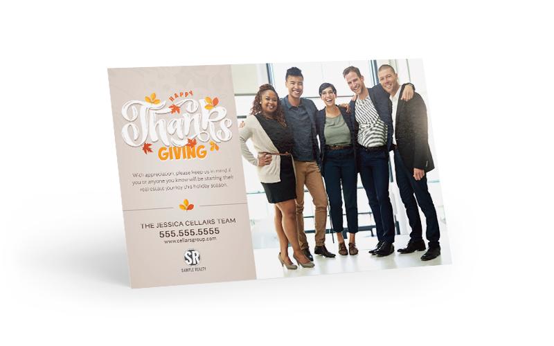 Corefact Seasonal - Thanksgiving Office Photo
